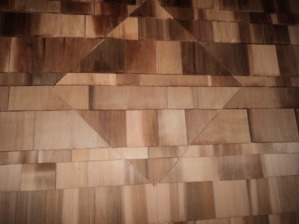 Cedar shingle pattern